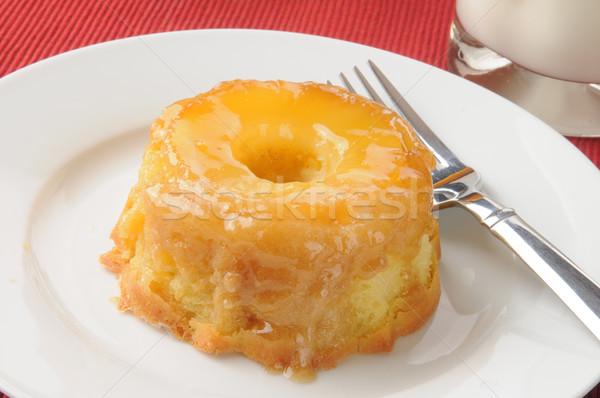 Pinapple upside down cake Stock photo © MSPhotographic