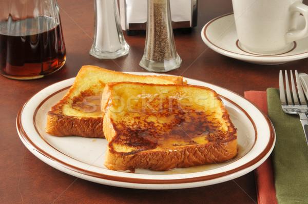French toast Stock photo © MSPhotographic