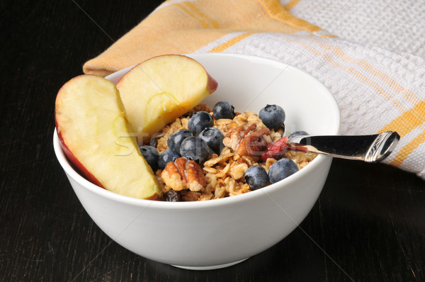 Organic granola with fruit, nuts and berries Stock photo © MSPhotographic