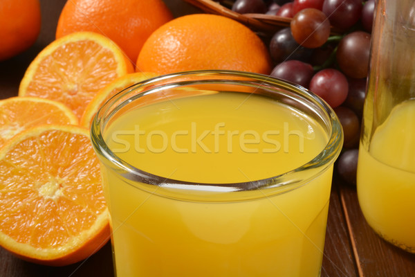 Fresh orange juice Stock photo © MSPhotographic