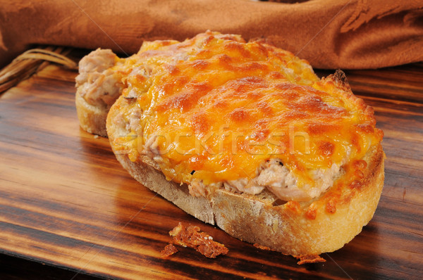 Tuna melt Stock photo © MSPhotographic