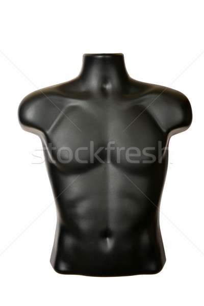 Shirt etalagepop half zwarte plastic witte Stockfoto © MSPhotographic