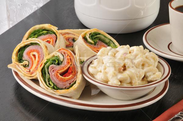 Italian wrap sandwich Stock photo © MSPhotographic
