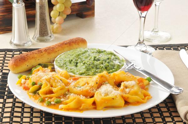Five cheese tortellini Stock photo © MSPhotographic