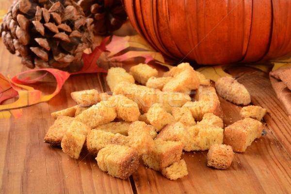 Calabaza vacaciones alimentos horizontal Foto stock © MSPhotographic