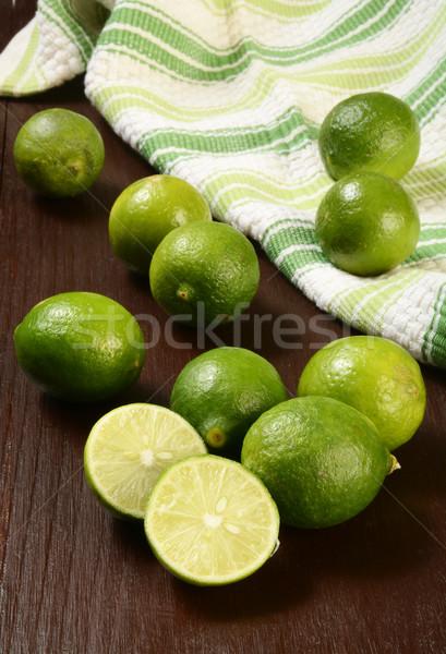 Fresh key limes Stock photo © MSPhotographic