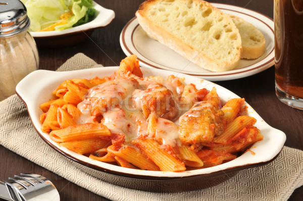 Chicken Parmigiana Stock photo © MSPhotographic