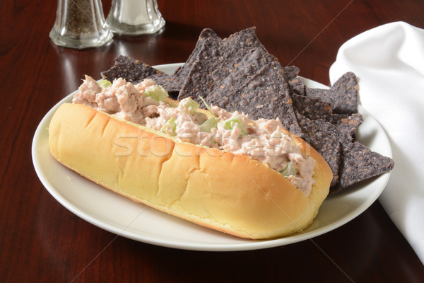 Tuna sandwich Stock photo © MSPhotographic