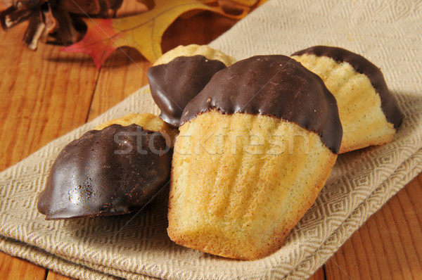 French butter cakes Stock photo © MSPhotographic