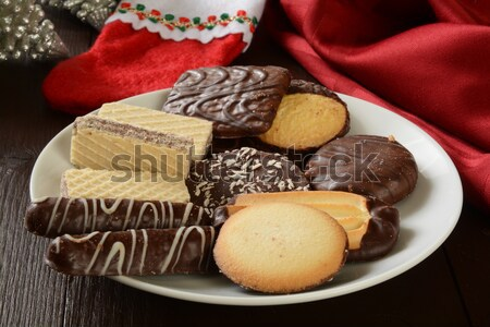 Holiday fudge candy Stock photo © MSPhotographic