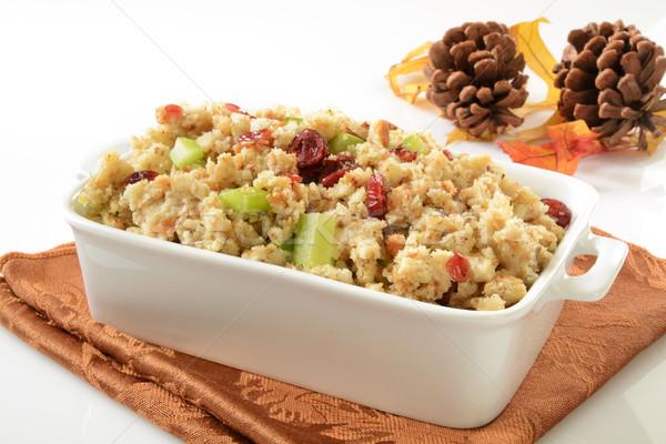 Stock photo: Cranberry stuffing