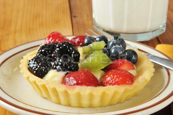 Fruit tart Stock photo © MSPhotographic