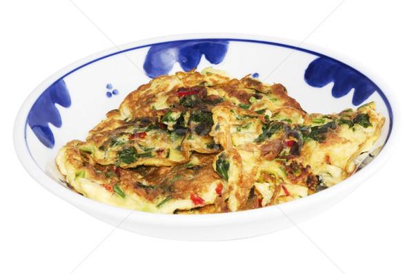 Stok fotoğraf: Asya · yumurta · stil · ana · yemek · kahvaltı · yemek