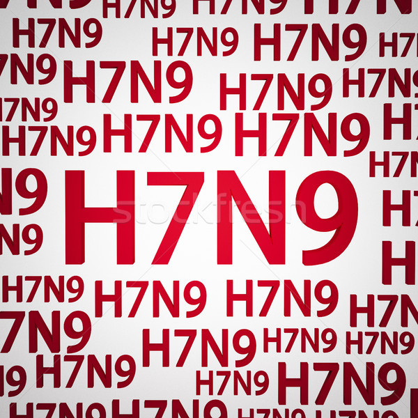 Grip grip virüs kavramlar yeni hastane Stok fotoğraf © mtkang