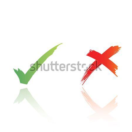 çapraz vektör format jpg Stok fotoğraf © mtkang