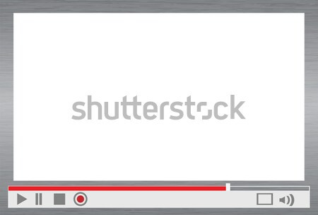 video player menu Stock photo © mtkang
