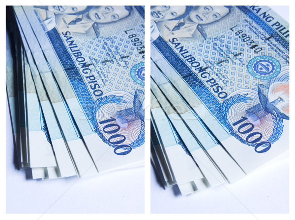 philippines peso Stock photo © mtkang
