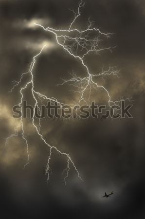 lightnings Stock photo © mtkang