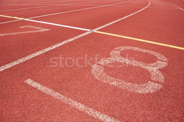 çalışma izlemek yarış sağlık spor alan Stok fotoğraf © mtkang