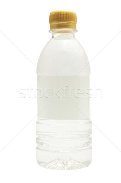 Yalıtılmış boş etiket su Stok fotoğraf © mtkang