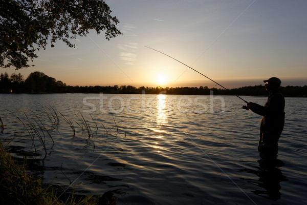 fisherman Stock photo © mtmmarek