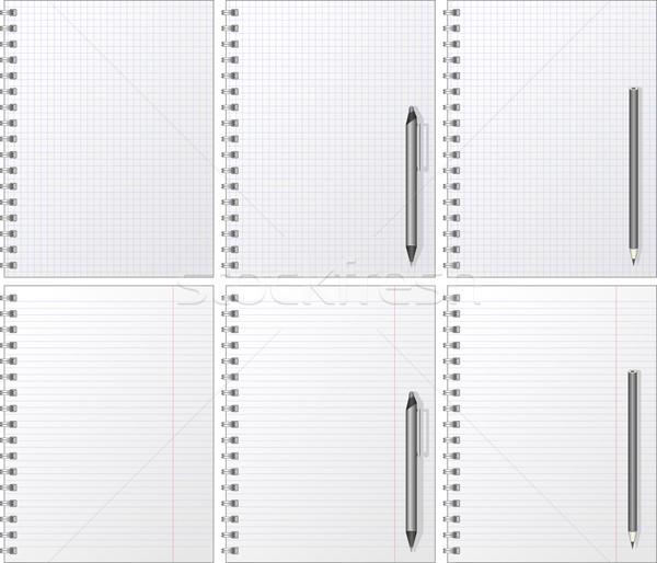 notebook Stock photo © mtmmarek