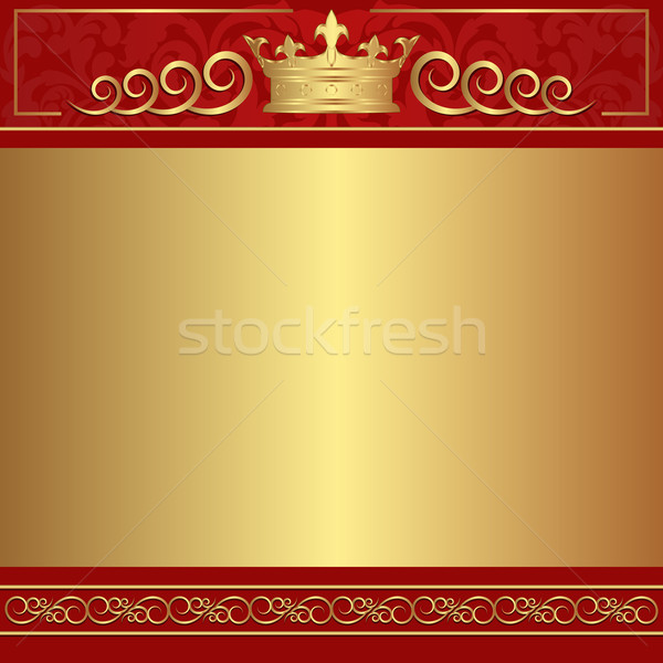 red  and gold background Stock photo © mtmmarek