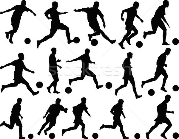 footballers Stock photo © mtmmarek