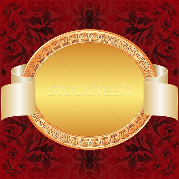 gold red background Stock photo © mtmmarek