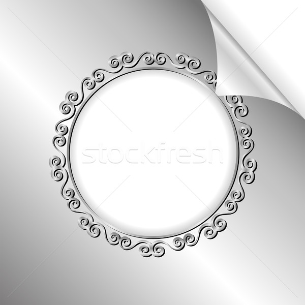 silver background Stock photo © mtmmarek
