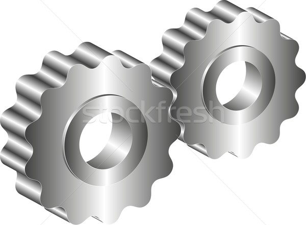 Metal Gears Stock photo © mtmmarek