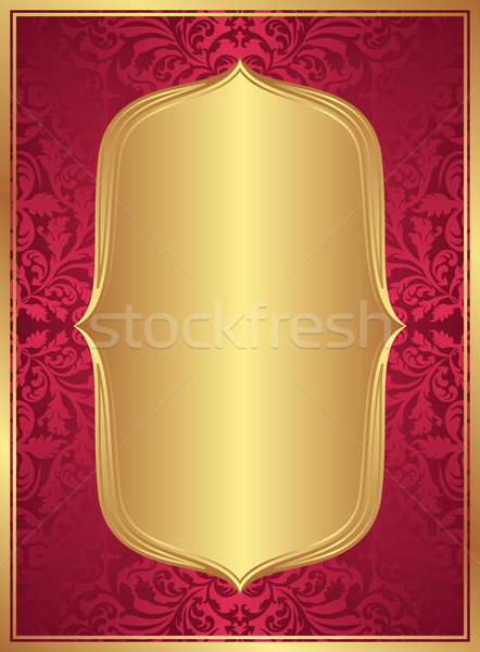 red gold background Stock photo © mtmmarek