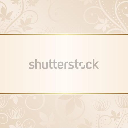 сливочный украшения текстуры аннотация фон Сток-фото © mtmmarek