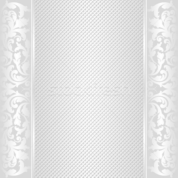 świetle streszczenie ozdoby przestrzeni vintage biały Zdjęcia stock © mtmmarek