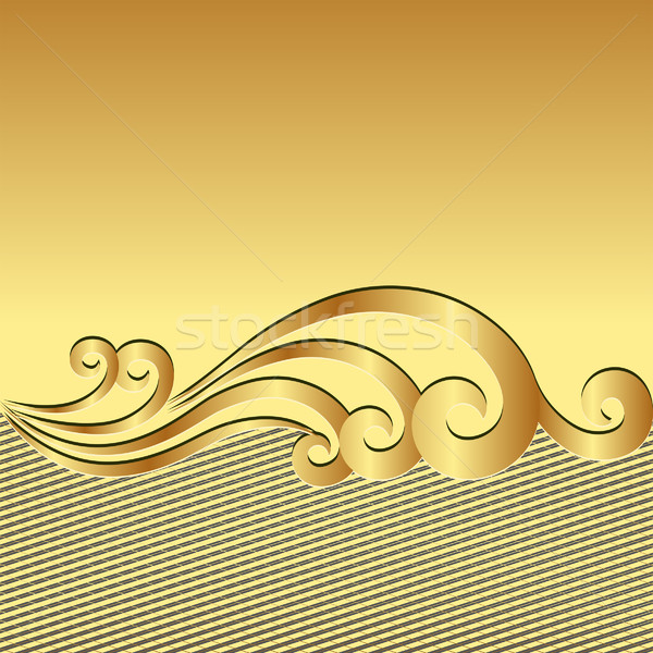 gold background Stock photo © mtmmarek