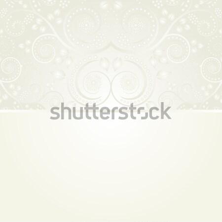 Vintage украшения Лучи аннотация дизайна ретро Сток-фото © mtmmarek