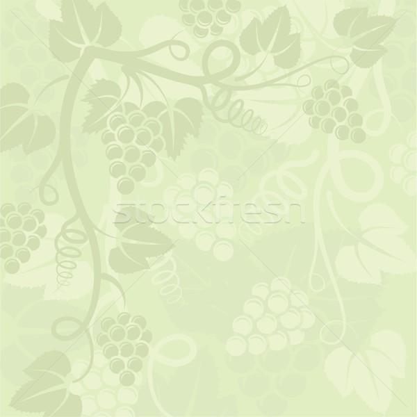 Szőlőtőke növény levelek szőlő szőlő alkat Stock fotó © mtmmarek
