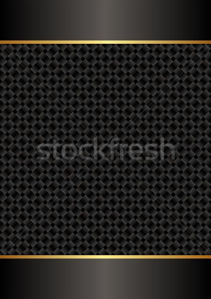 черный копия пространства текстуры фон золото темно Сток-фото © mtmmarek