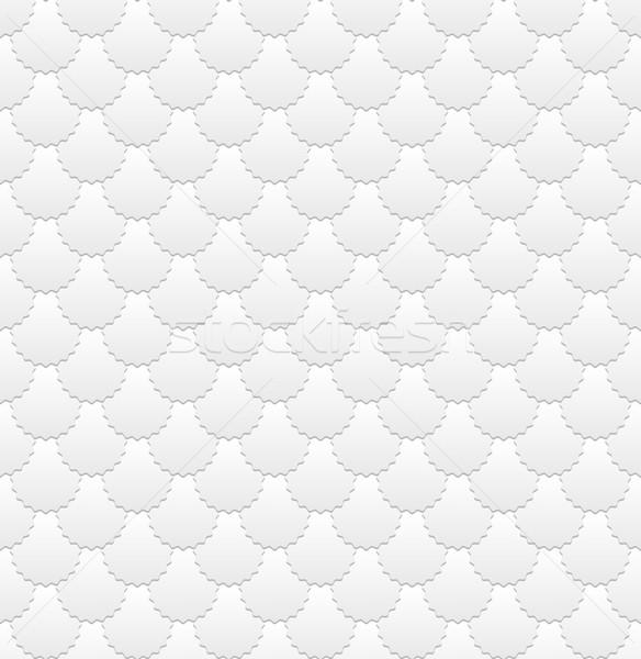 Neutral blanco patrón sin costura fondo azulejo Foto stock © mtmmarek