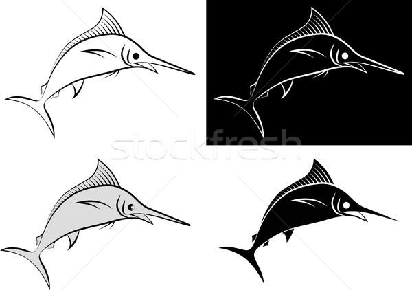 Izolált clip art illusztráció vonal művészet terv Stock fotó © mtmmarek