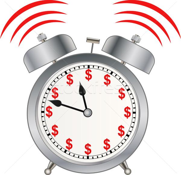 Время-деньги деньги время ключевые будущем Смотреть Сток-фото © mtmmarek