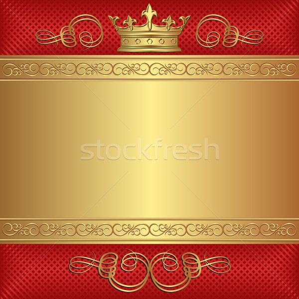 background with crown Stock photo © mtmmarek