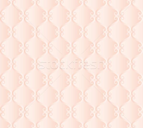 сливочный обои бесшовный текстуры дизайна ретро Сток-фото © mtmmarek