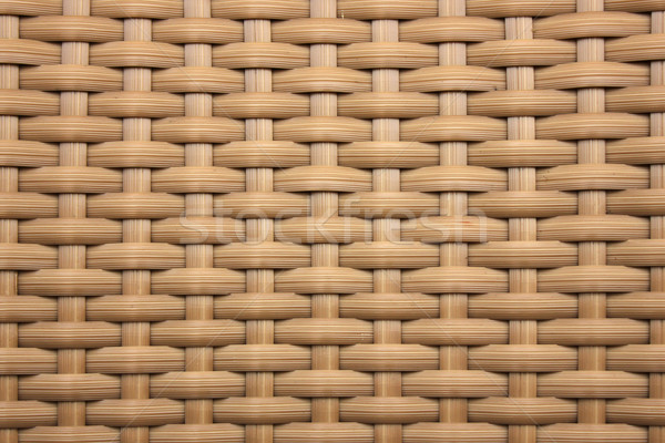 имитация плетеный пластиковых текстуры аннотация мебель Сток-фото © mtmmarek