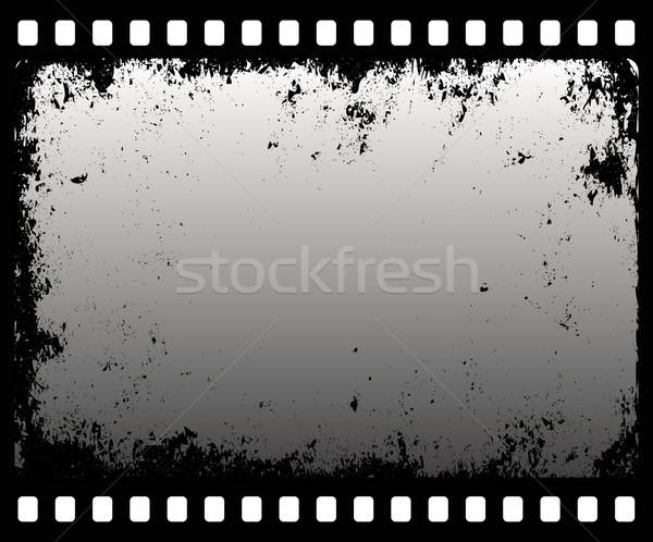 グランジ 映写スライド デザイン フレーム にログイン ビデオ ストックフォト © mtmmarek