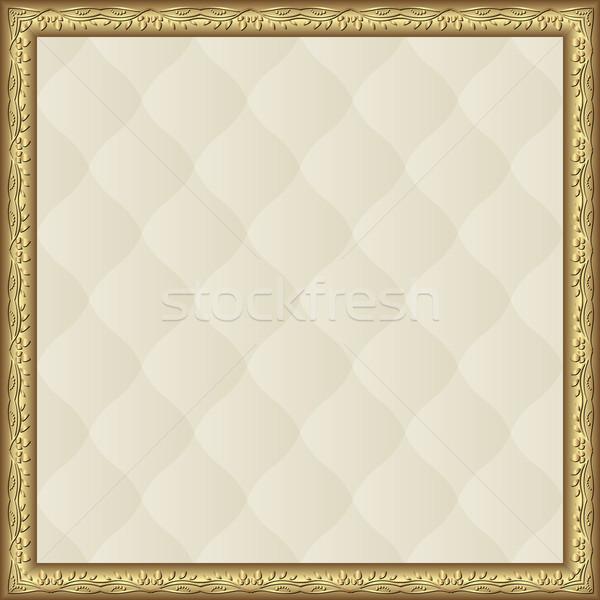 сливочный шаблон кадр фон карт Сток-фото © mtmmarek