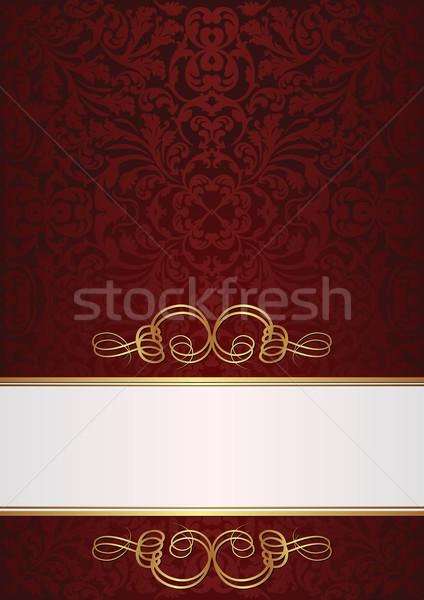 claret and white background Stock photo © mtmmarek