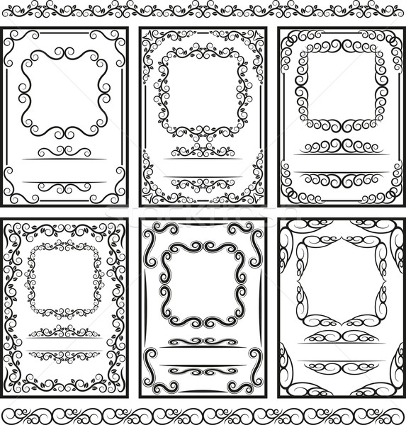 frames and borders Stock photo © mtmmarek