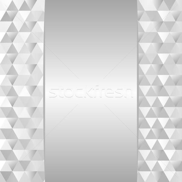 серебро текстуры фон границе иллюстрация Сток-фото © mtmmarek