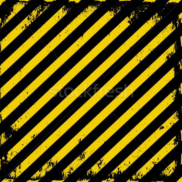 Barricaderen tape grunge achtergrond teken zwarte Stockfoto © mtmmarek